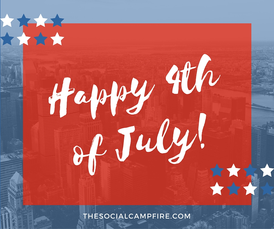 happy 4th of july from the social campfire llc